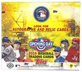 2016 Topps Opening Day Baseball Hobby Box