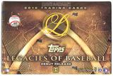 2016 Topps Legacies of Baseball Hobby 8-Box Case- DACW Live 26 Spot Random Team Break #5