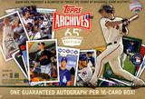 2016 Topps Archives 65th Anniversary Edition Baseball Box