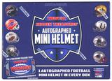 2016 TriStar Hidden Treasures Autographed Mini-Helmet Football Hobby 10-Box Case