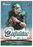 2012 Topps Bowman #110A Ryan Tannehill RC/dropping back