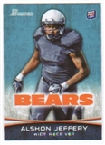 2012 Topps Bowman #137A Alshon Jeffery RC/running pose
