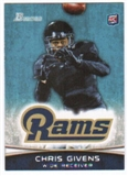 2012 Topps Bowman #179 Chris Givens