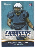 2012 Topps Bowman #180A Melvin Ingram RC/running to his left