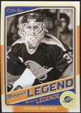 2012/13 Upper Deck O-Pee-Chee #548 Richard Brodeur Legend