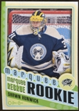 2012/13 Upper Deck O-Pee-Chee #566 Shawn Hunwick RC