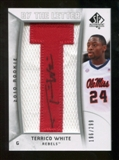 2010/11 Upper Deck SP Authentic #202 Terrico White RC Letter Patch Autograph /299