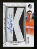 2010/11 Upper Deck SP Authentic #203 Andy Rautins RC Letter Patch Autograph /299