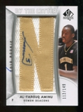 2010/11 Upper Deck SP Authentic #205 Al-Farouq Aminu RC Letter Patch Autograph /149