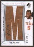 2010/11 Upper Deck SP Authentic #213 Damion James RC Letter Patch Autograph /149
