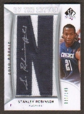 2010/11 Upper Deck SP Authentic #214 Stanley Robinson RC Letter Patch Autograph /149