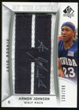 2010/11 Upper Deck SP Authentic #215 Armon Johnson AU/Serial 299, Print Run 2093 Autograph /2093