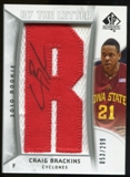 2010/11 Upper Deck SP Authentic #216 Craig Brackins AU/Serial 299, Print Run 2093 Autograph /2392