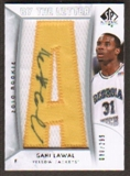2010/11 Upper Deck SP Authentic #217 Gani Lawal RC Letter Patch Autograph /299