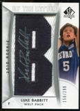2010/11 Upper Deck SP Authentic #218 Luke Babbitt AU/Serial 299, Print Run 2093 Autograph /2093