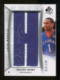2010/11 Upper Deck SP Authentic #220 Xavier Henry RC Letter Patch Autograph /149