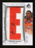 2010/11 Upper Deck SP Authentic #228 Trevor Booker RC Letter Patch Autograph /299