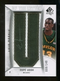 2010/11 Upper Deck SP Authentic #229 Ekpe Udoh RC Letter Patch Autograph /149