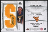 2010/11 Upper Deck SP Authentic #242 Devin Ebanks RC Letter Patch Autograph /299