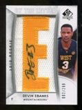 2010/11 Upper Deck SP Authentic #242 Devin Ebanks Autograph /299