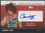 2011 American Pie #APA35 Carrot Top Auto