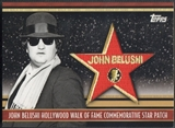 2011 American Pie #HWF19 John Belushi Hollywood Walk of Fame Patch #08/50