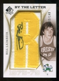 2010/11 Upper Deck SP Authentic By The Letter Legend Last Name #LBL Bill Laimbeer Autograph /149