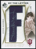 2010/11 Upper Deck SP Authentic By The Letter Legend Last Name #LSA Steve Alford Autograph /149