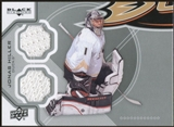 2012/13 Upper Deck Black Diamond Dual Jerseys #ANAJH Jonas Hiller E