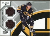 2012/13 Upper Deck Black Diamond Dual Jerseys #BOSBM Brad Marchand F