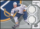 2012/13 Upper Deck Black Diamond Dual Jerseys #BUFFTM Tyler Myers D