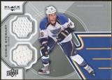2012/13 Upper Deck Black Diamond Dual Jerseys #STLCS Chris Stewart F