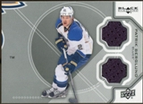 2012/13 Upper Deck Black Diamond Dual Jerseys #STLPB Patrik Berglund D