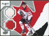 2012/13 Upper Deck Black Diamond Dual Jerseys #TC1CA Carter Ashton TC E