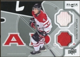 2012/13 Upper Deck Black Diamond Dual Jerseys #TC1DO Dylan Olsen TC E