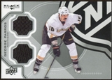 2012/13 Upper Deck Black Diamond Dual Jerseys #TOUGHGP George Parros F