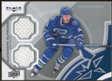 2012/13 Upper Deck Black Diamond Dual Jerseys #VANAB Alexandre Burrows C