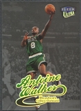 1998/99 Ultra #76 Antoine Walker Platinum Medallion #33/99