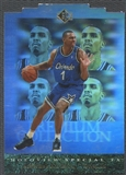 1995/96 SP #PC24 Anfernee Hardaway Holoviews Die Cut
