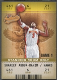 2002/03 Fleer Authentix #91 Shareef Abdur-Rahim Standing Room Only #01/25