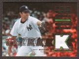2007 Fleer Ultra Strike Zone Materials #MM Mike Mussina