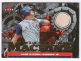 2007 Fleer Ultra Hitting Machines Materials #MT Mark Teixeira