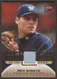 2007 Fleer Ultra Faces of the Game Materials #BS Ben Sheets