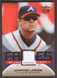 2007 Fleer Ultra Faces of the Game Materials #CJ Chipper Jones