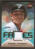 2007 Fleer Ultra Faces of the Game Materials #MC Miguel Cabrera