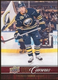 2012/13 Upper Deck Canvas #C11 Thomas Vanek