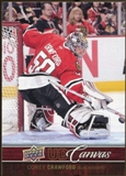 2012/13 Upper Deck Canvas #C22 Corey Crawford