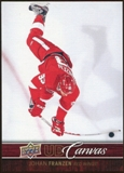 2012/13 Upper Deck Canvas #C32 Johan Franzen