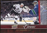 2012/13 Upper Deck Canvas #C39 Mike Richards
