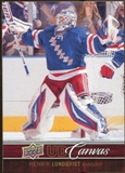 2012/13 Upper Deck Canvas #C55 Henrik Lundqvist